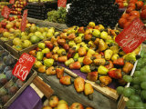 An Assortment of Fruit at a Fresh Air Market in Rio De Janeiro Photographic Print by Michael Melford
