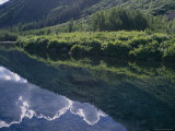 Sky and Clouds Reflected on Waters Surface Near Aspen Photographic Print by Charles Kogod