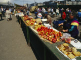 Open Air Market in Petropavlovsk Photographic Print by Klaus Nigge