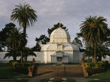 A View of the Conservatory of Flowers in Golden Gate Park Photographic Print by Ira Block