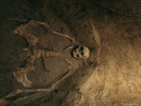 Skeletal Remains of Jamestown Colonist in Grave Unearthed by Archeologists Photographic Print by Ira Block