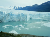 A View of the Perito Moreno Glacier in Patagonia, Argentina Photographic Print by Carsten Peter