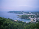 View Overlooking the Bay at Llafranc, Spain Photographic Print by Taylor S. Kennedy