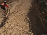 Mountain Biking Through Rock Formations in the Dixie National Forest Photographic Print by Bobby Model