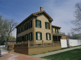 Exterior of President Abraham Lincoln's Home, Springfield IL Photographic Print