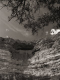 View of Montezuma Castle, a 600-Year-Old Sinagua Indian Residence Photographic Print