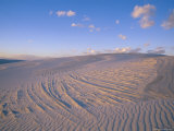 View at Twilight of Sand Dunes in White Sands National Monument Photographic Print by Bobby Model