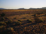 Desert Prairie outside of Santa Fe Photographic Print by Raul Touzon