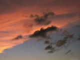 Pink Skies Dot the Caribbean Horizon Photographic Print by Heather Perry