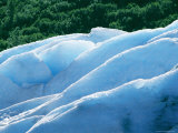 The Blue Ice of Exit Glacier Photographic Print by Rich Reid