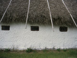 Barn with a Thatched Roof in the Countryside Photographic Print by Sisse Brimberg