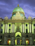 The Hofburg Gate in the Hofburg Palace at Dusk Photographic Print by Taylor S. Kennedy
