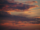 Dramatic Sky with Clouds at Sunset Photographic Print by Kate Thompson