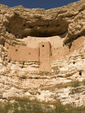 View of This Five-Story, Twenty-Room Cliff Dwelling near Flagstaff Photographic Print by Charles Kogod