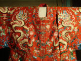 Silk Robe at the Museum of Chinas Ming Dynasty Tombs Photographic Print by Richard Nowitz