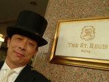 The Doorman at the St. Regis Hotel in Beijing Photographic Print by Richard Nowitz
