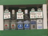 Bottles of Vodka Sold from a Street Kiosk Photographic Print by Richard Nowitz