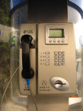 A Pay Telephone on a Beijing Street Photographic Print by Richard Nowitz