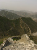 The Great Wall of China at the Juyongguan Pass Photographic Print by Richard Nowitz
