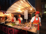 Food Vendors on the City Streets Photographic Print by Richard Nowitz