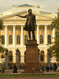 A Statue of Literary Great, Alexander Pushkin Photographic Print by Richard Nowitz