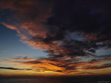 Cloud-Filled Sky at Twilight Photographic Print by Tim Laman