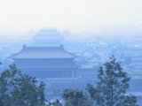 Elevated View of the Forbidden City from Jingshan Park Photographic Print by Richard Nowitz