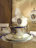 Bone China Tea Sets are Sold with Czar Motif Photographic Print by Richard Nowitz