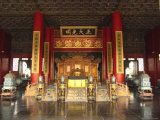 The Hall of Supreme Harmony in the Beijings Forbidden City Photographic Print by Richard Nowitz