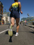 Marathon Runner Photographic Print by Skip Brown