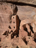 The Four-Story Anasazi Square Tower House Dwelling Photographic Print by Ira Block