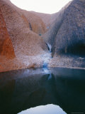 The Mutitjulu Watering Hole in Uluru National Park Photographic Print