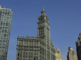 The Wrigley Building Adorns the Chicago Skyline Photographic Print by Joel Sartore