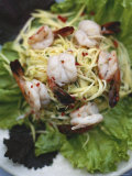 Thai Mango Prawn Salad Fotografie-Druck von Justin Guariglia
