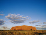 View of Ayers Rock Photographic Print by Jason Edwards