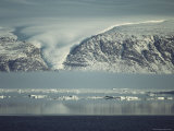 A Glacier Tongue Above the Sea Photographic Print by John Dunn/Arctic Light
