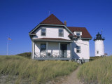 Race Point Lighthouse and Keepers House Built circa 1876 Photographic Print by Rich Reid