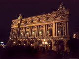 Exterior View of the Opera Garnier in Paris, Paris, France Photographic Print by Taylor S. Kennedy