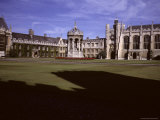 A View of the Courtyard of Trinity College, Cambridge, England Photographic Print by Taylor S. Kennedy