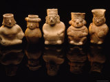 Red Clay Figurine Jars from the Moche Platform at Sipan Photographic Print by Bill Ballenberg