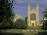 A View of King's College Chapel from Across the River Cam, Cambridge, England Photographic Print by Taylor S. Kennedy