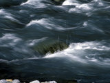 Water Flows Over Stones Creating Artistic Patterns in the Stream, Alaska, United States Photographic Print by Stacy Gold