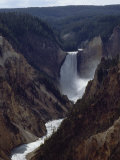 Artist Point, Yellowstone Falls, Wyoming Photographic Print by James P. Blair