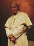 Portrait of Pope John Paul II, Rome, Italy Photographic Print by James L. Stanfield