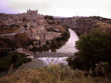 Toledo, Spain a View of Toledo, Spain Photographic Print by Taylor S. Kennedy