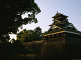 The Kumamoto Castle was the Site of Japans Last Civil War, it is Also Known as the Ginkgo Castle Photographic Print by Michael S. Yamashita
