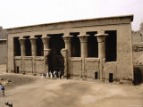 The Ancient Temple of Khnum, Named for the Egyptian God of Creation Photographic Print by Stephen St. John