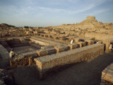 The Remains of a Buddhist Stupa and Monastery from the Kushan Period, Moenjodaro, Pakistan Photographic Print by James L. Stanfield