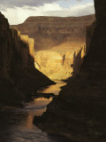 The Colorado River Flows Through the Grand Canyon, Arizona Photographic Print by Michael Nichols