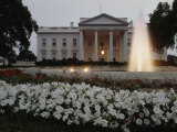 North Side of the White House at Twilight, Washington D.C. Photographic Print by James P. Blair